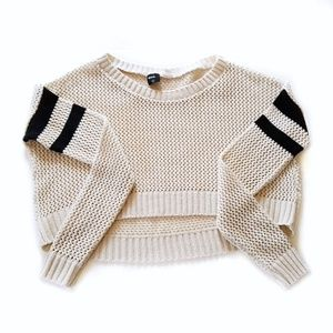 Urban Outfitters BDG varsity knit crop sweater XS